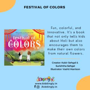 Kiddingly - Festival Of Colors Holi Children Books 300x300