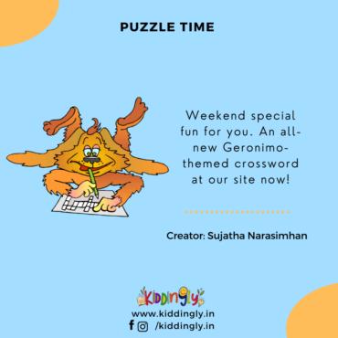 Children's Books And Activities: Geronimo Stilton Puzzle