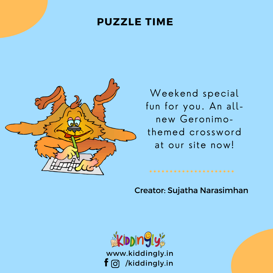 Children's Books And Activities: Geronimo Stilton Puzzle