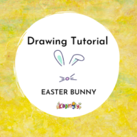 Kiddingly - How to draw Easter Bunny Kids Art 200x200