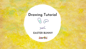 Kiddingly - How to draw Easter Bunny Kids Art 300x169