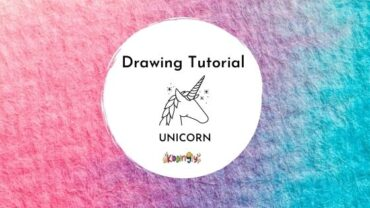 How to draw a Unicorn l Step by step tutorial