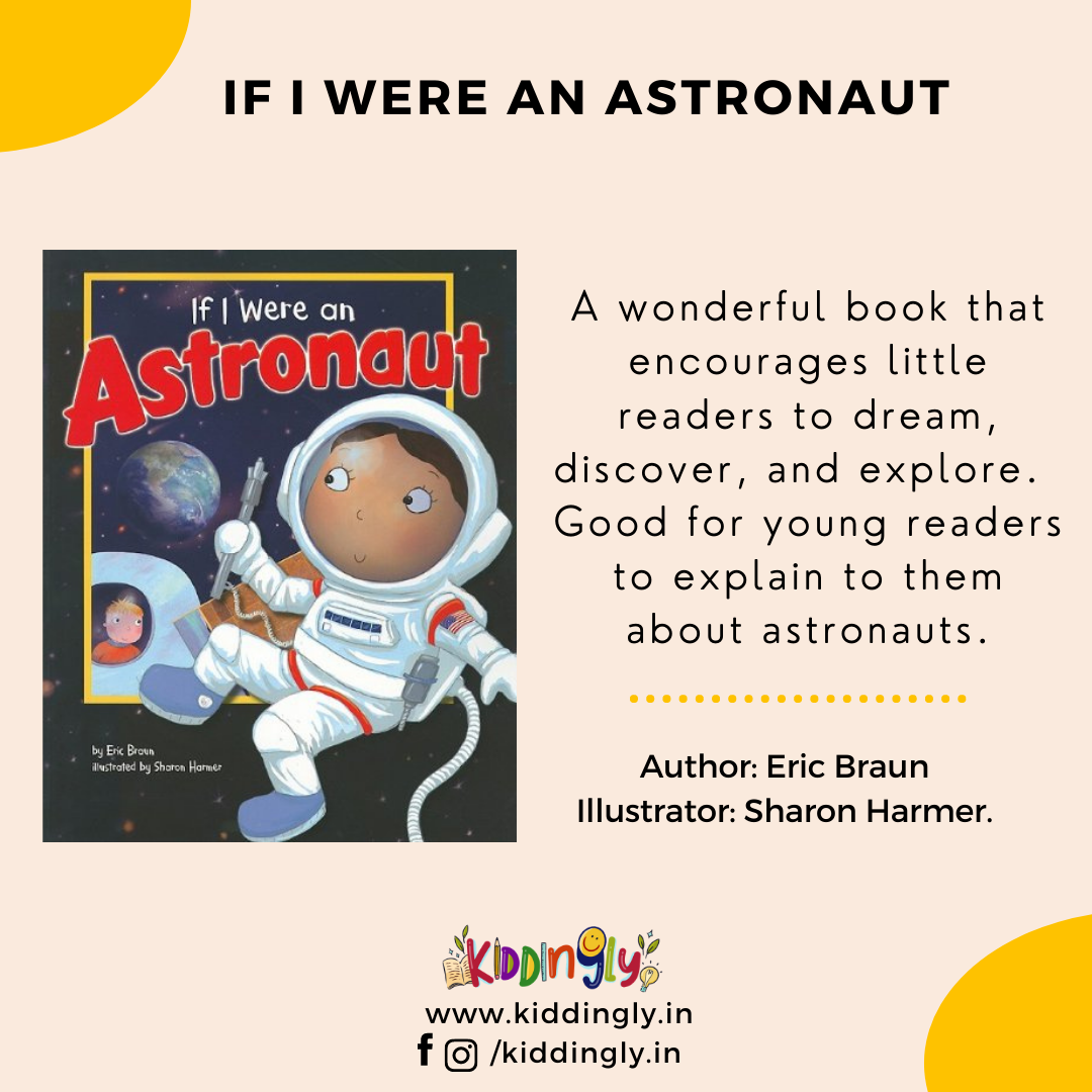 If I Were An Astronaut: Children's Book Review