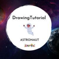 Kiddingly - How to draw an astronaut Kiddingly 200x200