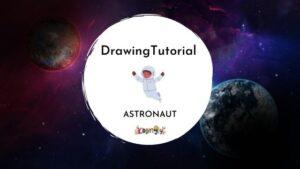 Kiddingly - How to draw an astronaut Kiddingly 300x169