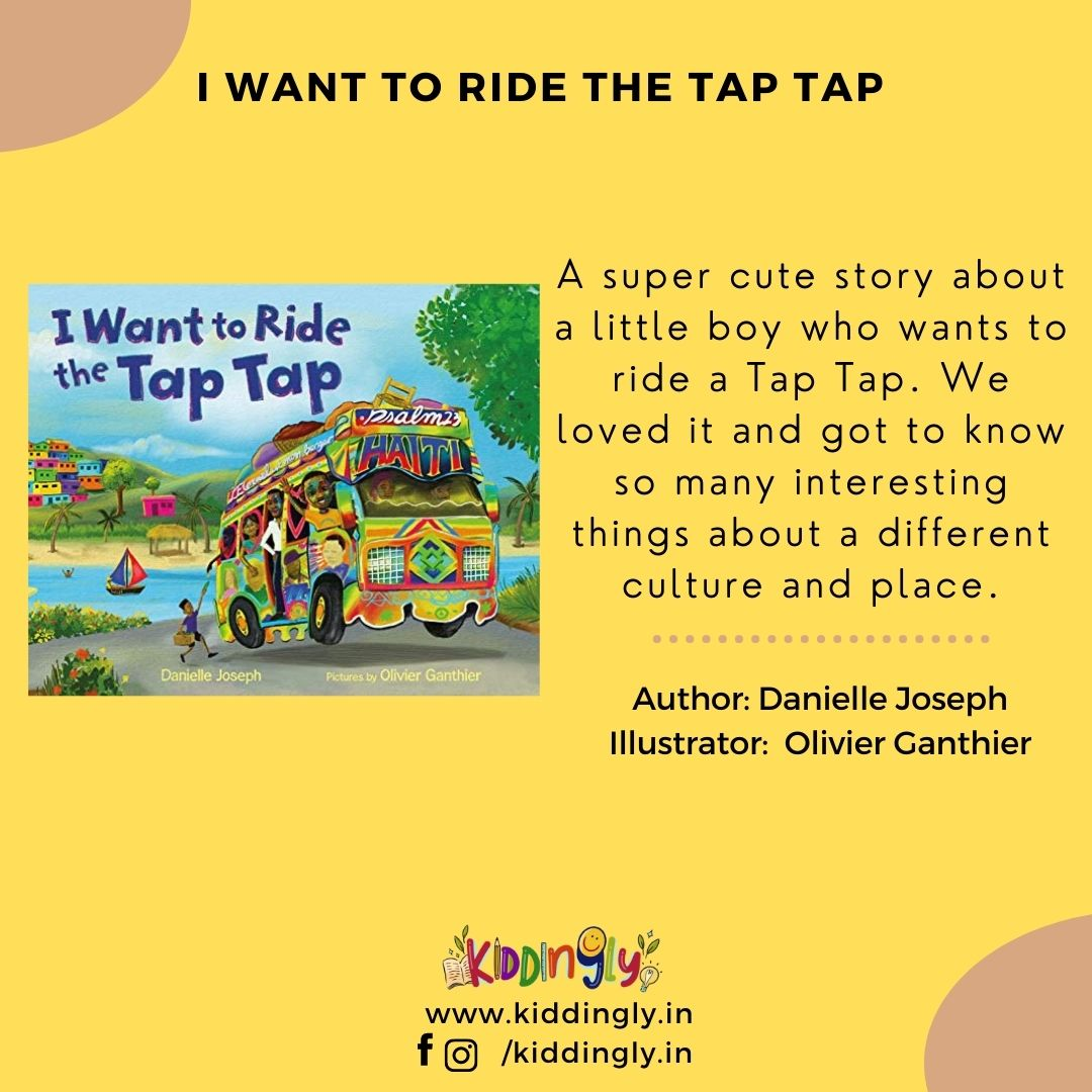 I Want To Ride The Tap Tap – Children's Book Review