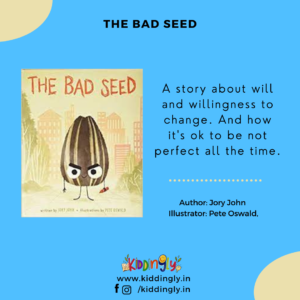Kiddingly - The Bad Seed Kiddingly Book Review 300x300